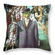 Botticelli Son-of-man 1  Throw Pillow