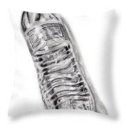 Bottled Water Throw Pillow
