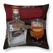 Jack Daniels - Single Barrel Throw Pillow