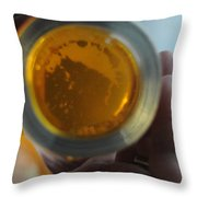 Bottom's Up Throw Pillow by Paulette B Wright
