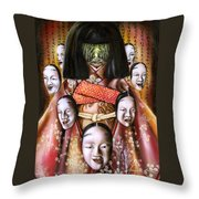 Boukyo Nostalgisa Throw Pillow