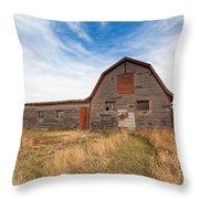 Boulder Barn Throw Pillow