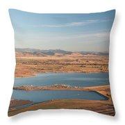 Boulder, Co, Boulder Reservoir Throw Pillow