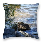 Boulder Throw Pillow