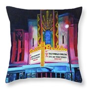 Boulder Theater Throw Pillow