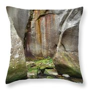 Boulders By The River 2 Throw Pillow