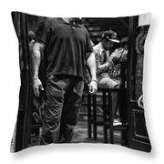 Bouncer Throw Pillow