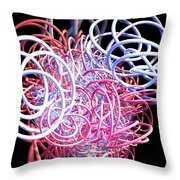 Bouncing At The Old Kings Arms Throw Pillow