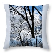 Bound For The Grinder Throw Pillow