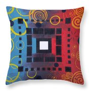 Boundaries Throw Pillow
