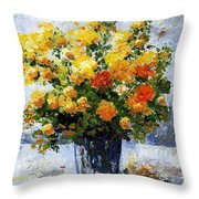 Bouquet D'estate 035 Throw Pillow