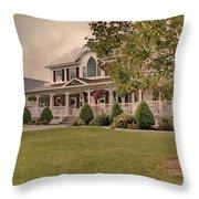 Bourbeau Custom Homes Throw Pillow