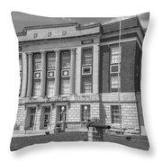 Bourbon County Courthouse 3 Throw Pillow