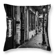 Bourbon Street Diva Throw Pillow