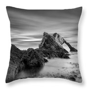 Bow Fiddle Rock 1 Throw Pillow by Dave Bowman