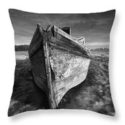 Bow Line Throw Pillow