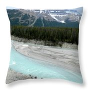 Bow River Throw Pillow