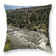 Bowl And Pitcher Area - Riverside State Park - Spokane Washington Throw Pillow