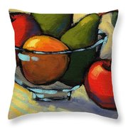 Bowl Of Fruit 5 Throw Pillow