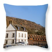Bowling Harbour House Throw Pillow