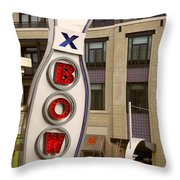 Bowling Pin Throw Pillow