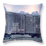 Boxcar 2 Throw Pillow