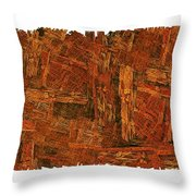 Boxed-in Throw Pillow