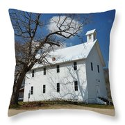 Boxley Schoolhouse Throw Pillow