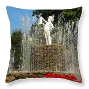 Boy With The Boot 3 Throw Pillow