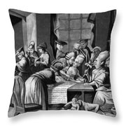 Boycott Of British Tea Throw Pillow