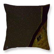 Boylan Creek At Night Throw Pillow