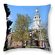 Boyle County Courthouse 3 Throw Pillow