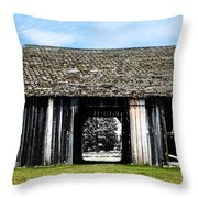 Boyne Barn Throw Pillow