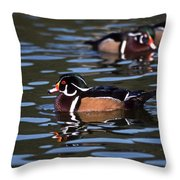 Boys Night Out Throw Pillow by Skip Willits