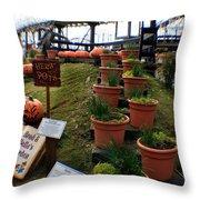 Brad And Bellas Garden Throw Pillow