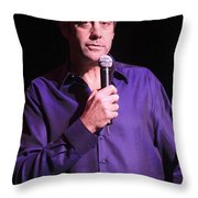 Brad Garrett Throw Pillow