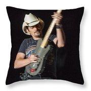 Brad Paisley 1 Throw Pillow