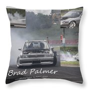 Brad Palmer Throw Pillow