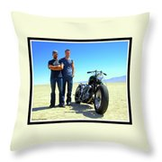 Actor - Brad Pitt With Shinya Kimura Throw Pillow