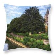Bradford On Avon Throw Pillow