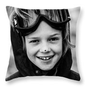 Something On Your Nose Throw Pillow