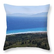 Bragini Beach One Throw Pillow