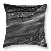 Braided Water Throw Pillow