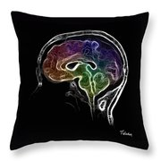 Brain And Mind Throw Pillow