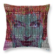 Brain Freeze Throw Pillow