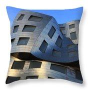 Brain Institute Building Las Vegas Throw Pillow