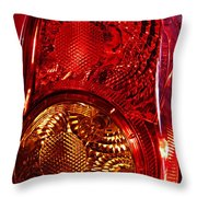 Brake Light 45 Throw Pillow