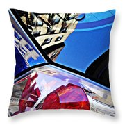 Brake Light 50 Throw Pillow
