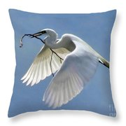 Branch Of Peace Throw Pillow