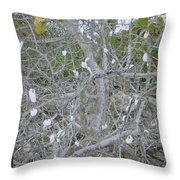 Branches 1 Throw Pillow